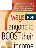 7 Ways for Anyone to Boost Their Inc