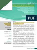 2020 Parâmetros maternos e perinatais após intervenções não farmacológico