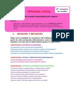 4° PRIM- PERSONAL SOCIAL - AUTOEVALUACIÒN.pdf