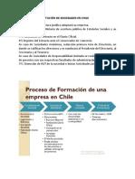 PROCESO DE CONSTITUCIÓN DE SOCIEDADES EN CHILE
