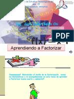 Aprenda factorización Ing. Balán