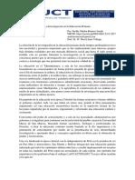 La Investigación en la Educación Peruana