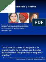 PPT - FEMINICIDIO