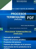 Presentación 6 Clase Pirolisis Maestría Energia Renovable