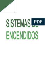 TIPOS DE ENCENDIDO - FCM