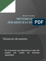 Método de jerarquización