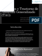 Depresión y Trastorno de Ansiedad Generalizado (TAG)