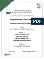 LA INFRAESTRUCTURA COMO SERVICIO IAAS