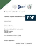 Javier Alejandro Villanueva Perez-DIMENSIONAMIENTO OPTIMO DE LOS CONDUCTORES.pdf