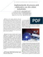 10_Simulación e implementación de proceso pick and place colaborativo con dos robots industriales