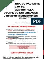 CÁLCULO DE MEDICAMENTOS Apoio.pdf