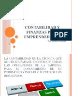 CONTABILIDAD Y FINANZAS PARA EMPRENDEDORES