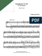 MOZART - Symphony 40