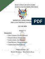 Informe N°6-Ley de Ohm