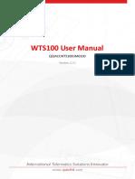 WTS100UserManual_V1.00