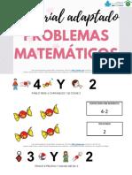 Problemas Matematicos Suma o Resta