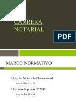 DERECHO NOTARIAL - TEMA 5 - CARRERA NOTARIAL.pptx
