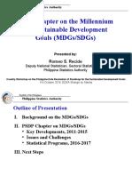 Chapter on SDGs