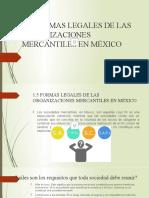 1.5 FORMAS LEGALES DE LAS ORGANIZACIONES MERCANTILES EN MÉXICO.pptx