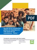 Aportes de la constitución política en Colombia a la vida actual de los colombianos.pdf