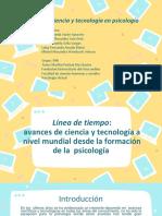 EJE 2 CIENCIA TECNOLOGÍA Y SOCIEDAD - LINEA DEL TIEMPO