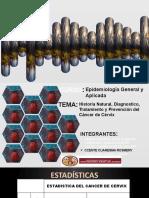 HISTORIA NATURAL, DIAGNOSTICO Y TRATAMIENTO DEL CÁNCER DE CUELLO UTERINO