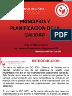 UNIDAD # 2. PRINCIPIOS Y PLANIFICACION CALIDAD