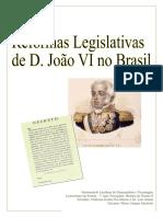 Reformas Legislativas de D. João VI no Brasil
