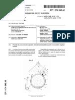 PATENTE DRUM DRIER ACEITE EP1174045A1