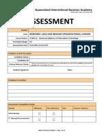 Assessment  BSBINN601 3 of 3 QIBA V2