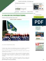 O VALOR DO PATRIOTISMO « Portal Ambiente Legal.pdf