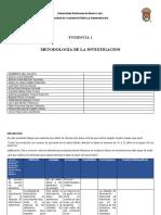 Evidencia 1 Metodologia equipo 4