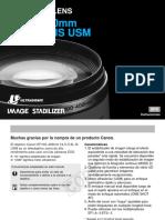 Manual 100-400 4.5-5.6L IS USM-Español