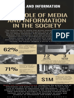 role of media and information
