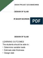 IDP - how to design slab
