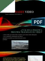 Actividades video