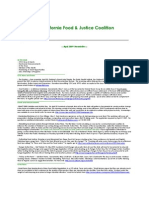 April 2009 California Food and Justice Coalition Newsletter