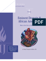 Eminent Domain & African Americans