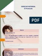 CONTENIDO EXTRA 1 Notariado EL PROTOCOLO