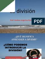la enseñanza de la división