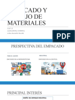 EMPACADO Y MANEJO DE MATERIALES