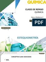 PPT CLASES DE REPASO ESTEQUIOMETRÍA 2017