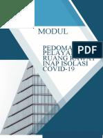 MODUL PEDOMAN PELAYANAN RUANG ISOLASI COVID RSUB (FIX)