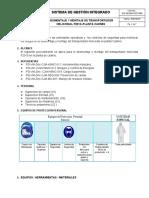 SIG-SSOMA-PETS- 080 Desmontaje y Montaje de Transportador Helicoidal