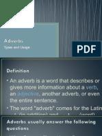 adverb, conjunction