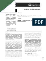 Informe Reducción Permanganato