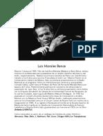 CV Luis Morales Bance