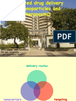 SRPA on targeted drug delivery and theranostics Cork Meeting