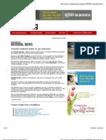 Marketing Magazine - Profile on The Toronto Special Magazine