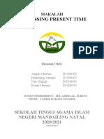 Makalah expressing present time
